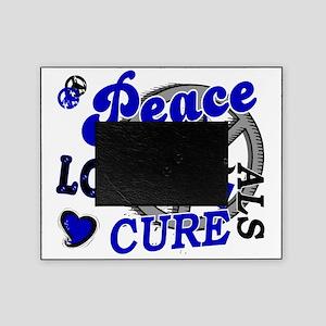 D ALS Peace Love Cure 2 Picture Frame