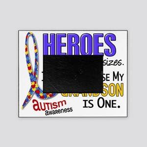 D Heroes All Sizes Autism Grandson Picture Frame
