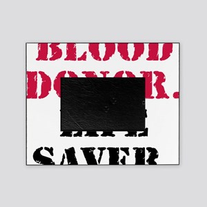 blood_donor_life_savercir Picture Frame