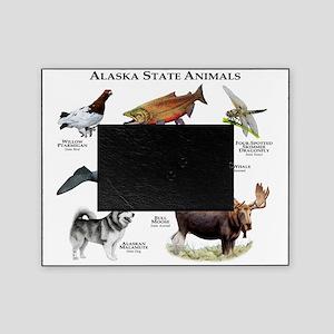 Alaska State Animals Picture Frame