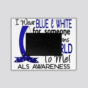 D Means The World To Me ALS Picture Frame