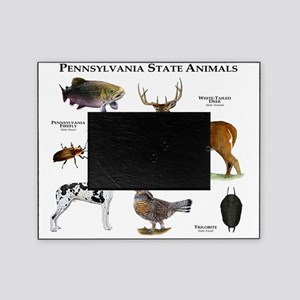 Pennsylvania State Animals Picture Frame