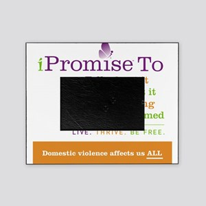 iPromise To...on White Picture Frame