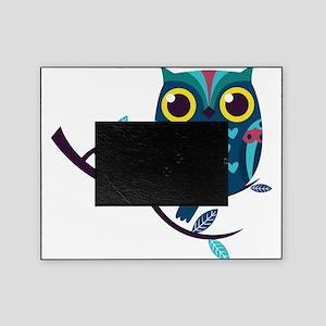 Dark Teal Owl Picture Frame