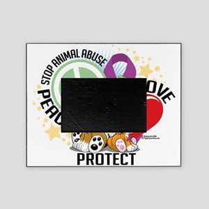 Stop-Animal-Abuse-PLP Picture Frame