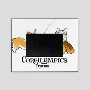 Corgilympics - Fencing Picture Frame