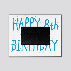 happy 8th birthday b Picture Frame