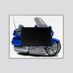 Goldwing Blue Bike Picture Frame