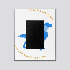 Setter Cone Blue Picture Frame