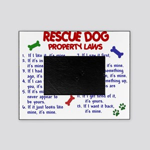 D RESCUE DOG PL2 Picture Frame