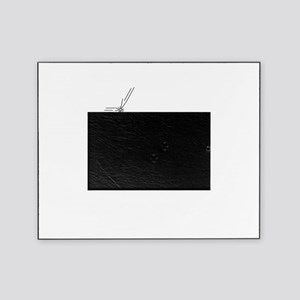 Hard Balls - White Picture Frame