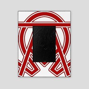 dexter-alpha-omega-symbol Picture Frame