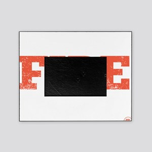 Meat Fire Good (Dark Apparel) Picture Frame