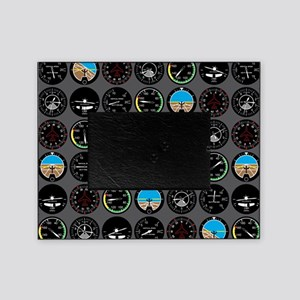 Flight Instruments Picture Frame