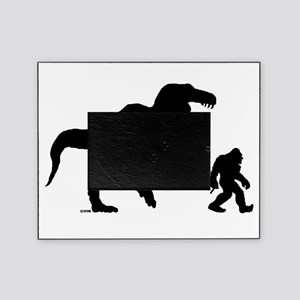 Gone Squatchin with T-rex Picture Frame