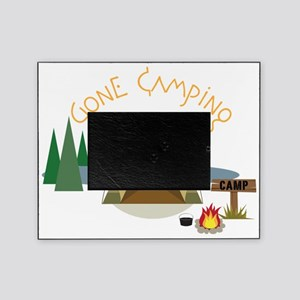 Gone Camping Picture Frame