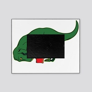 T-rex hates presents Picture Frame