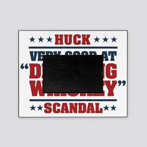 Scandal Huck Drinking Whiskey Picture Frame