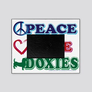 Peace-Love-Doxies Picture Frame