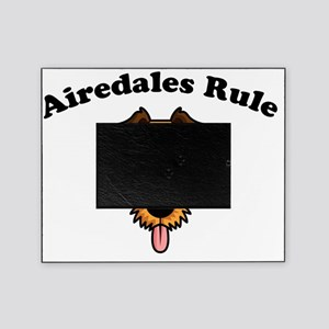 2-Airdales-Rule Picture Frame