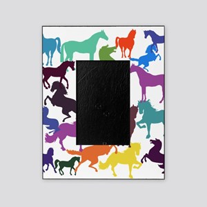 Rainbow Horses Picture Frame