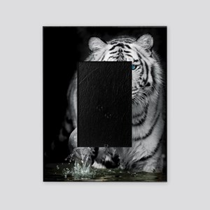 White Tiger Picture Frame