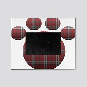 Plaid Paw Picture Frame