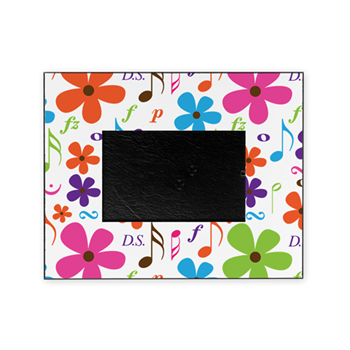 Funky Music Flowers Picture Frame Music Photo Frames Www