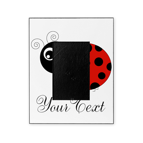 Red and Black Personalizable Ladybug Picture Frame by ...