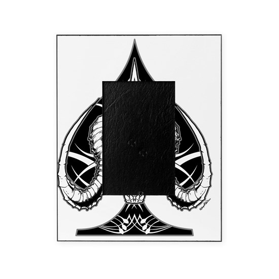 The Ace of Spades Transparent Picture Frame by markskull ...