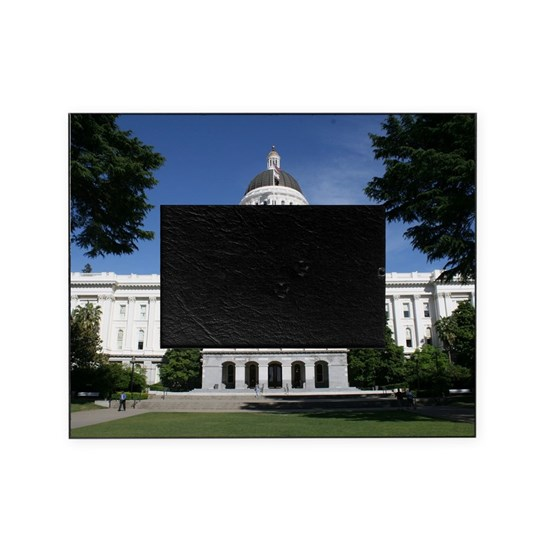 Capitol in Sacramento Picture Frame by Christine aka stine1 on Cafepress