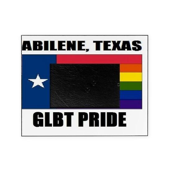 Abilene, Texas- GLBT Pride Picture Frame By Ilovesupremes