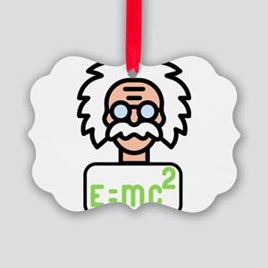 Einstein Picture Ornament