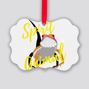 Bearded Dragon Spirit Animal Gift Picture Ornament