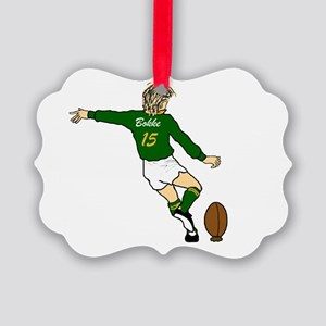 Soth Africa Rugby Fullback Ornament