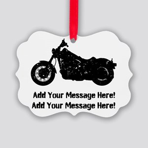 Personalize It, Motorcycle Ornament