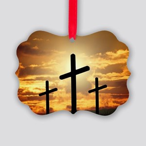 The Cross Picture Ornament
