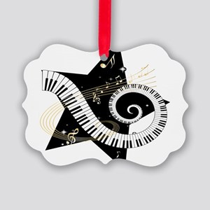 musicalstar Picture Ornament