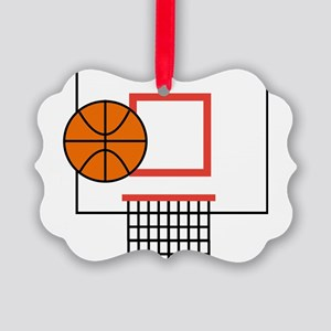 Basketball Picture Ornament