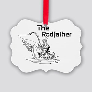 The Rodfather Ornament