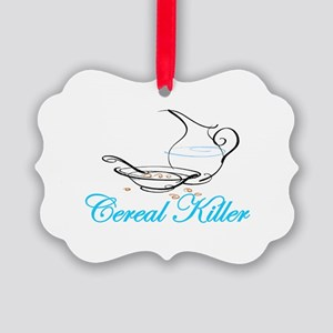 cereal killer Picture Ornament