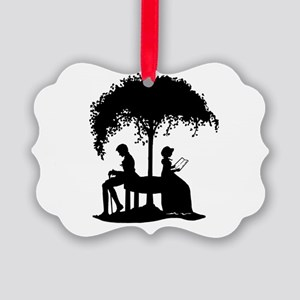 Jane Austen Lovers Picture Ornament