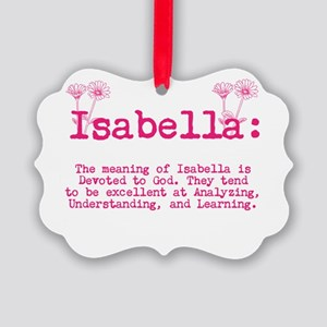 The Meaning of Isabella Ornament