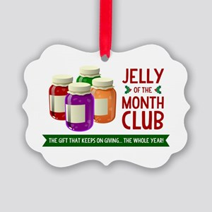 Jelly of the Month Picture Ornament