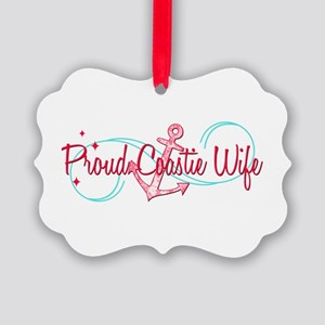 Proud CG Wife Picture Ornament