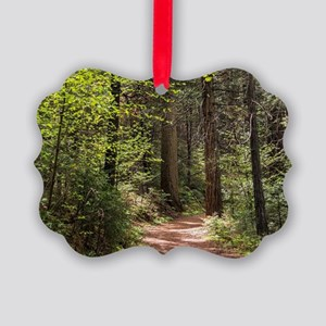 Forest Trail Picture Ornament