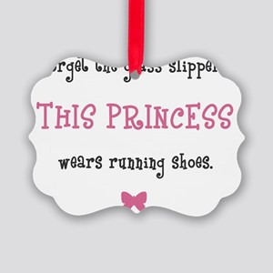 Princess Runner Picture Ornament