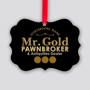 Mr Gold Pawnbroker Ornament