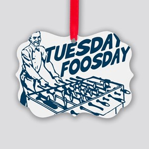 Tuesday Foosday Picture Ornament