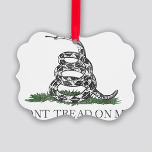 Dont Tread on Me Picture Ornament